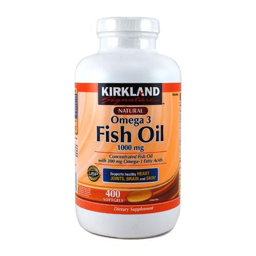 Dha epa 3 1000mg 400 kirkland for Sfh fish oil