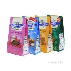 画像1: ギラデリチョコレート スクエアズ 5種類から選べる4個セット