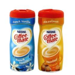 画像1: ネスレ コーヒーメイト(フレンチバニラ/ヘーゼルナッツ)2セット