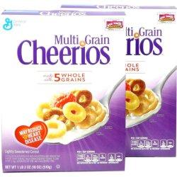 画像1: Cheerios チェリオス マルチグレインシリアル (5種類のグレイン入り) 2箱