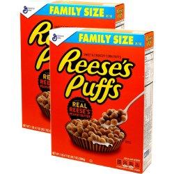 画像1: Reese's リーシーズ パフス シリアル ファミリーサイズ 2箱