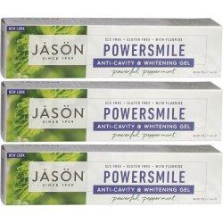 画像1: Jason  ジェイソン パワースマイル 歯磨きジェル 3本 アメリカ製