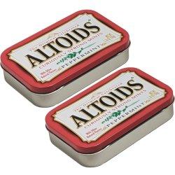 画像1: 【送料無料】Altoids アルトイズ ペパーミントキャンディー 2個