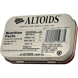 画像2: 【送料無料】Altoids アルトイズ ペパーミントキャンディー 2個