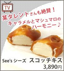 【あめりか堂】<スコッチキス>See's シーズチョコレート 1ポンド(445g) カリフォルニア製